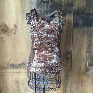 NWT Forever 21 Sequin Tank